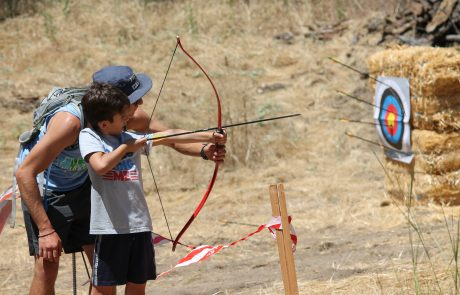 Archery at Summer Camp 2019