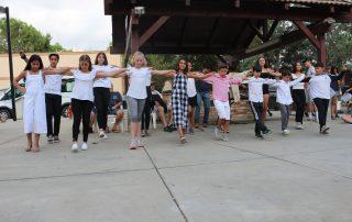 Dancing at Our Greek Village